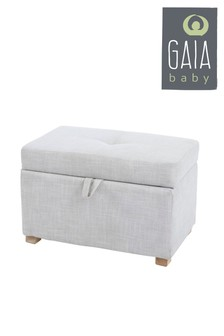 Oatmeal Gaia Serena Footstool