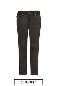 Emporio Armani Boys Black Jeans