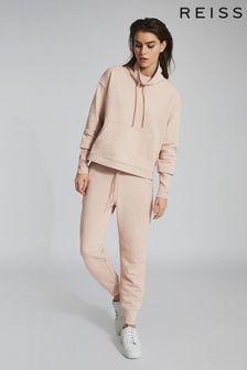 Reiss Camel Julietta Funnel Sweater
