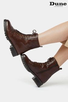 Dune London Prestone Cleated Sole Lace-Up Hiker Boots