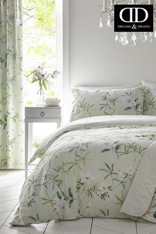 Florence Floral Duvet Cover And Pillowcase Set by D&D
