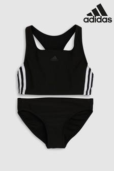 adidas Black 3 Stripe Bikini