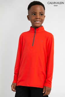 Calvin Klein Golf Newport Junior Half Zip Jumper