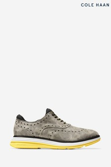 Cole Haan Grey OriginalGrand Ultra Wing Ox Shoes