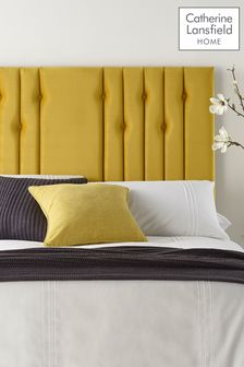 Yellow Headboard By Catherine Lansfield