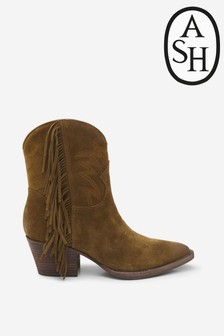Ash Furious Tan Suede Boots