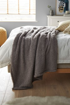 Cosy Fleece Throw