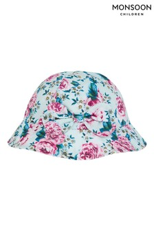 Monsoon Blue Baby Leena Floral Bucket Hat