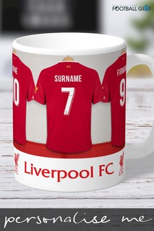 Personalised Liverpool Mug by Personalised Football Gifts