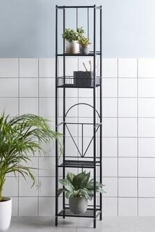 Geometric Tall Shelf Unit