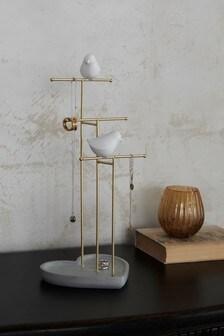 Love Birds Jewellery Holder Tree