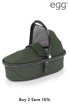 Country Green Egg Carrycot By Babystyle