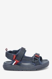 Navy Chunky Trekker Sandals (Older)
