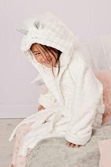 White Unicorn Robe (9mths-16yrs)