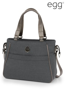 Carbon Grey Egg Change Bag By Babystyle