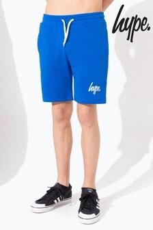 Hype. Blue Script Kids Shorts