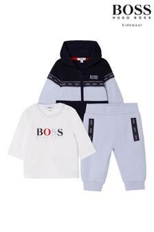BOSS Light Blue Three Piece Outfit Set