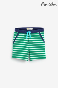 Boden Green Essential Jersey Shorts