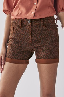 Leopard Print Boy Shorts