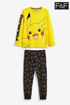 F&F Yellow Pokémon™ Pyjama Set