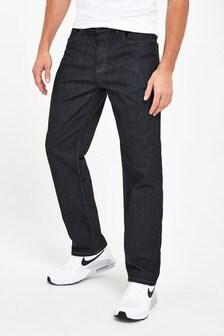 Smart Dark Blue Straight Fit Jeans