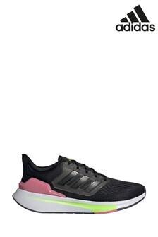 adidas Black EQ21 Run Trainers