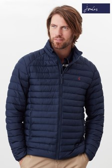 Joules Blue Go To Padded Jacket