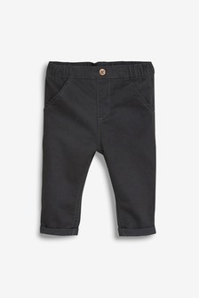 Charcoal Chinos (0mths-2yrs)