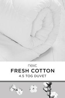 Breathable Cotton 4.5 Tog Duvet
