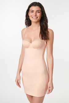 Nude Medium Control Wear Your Own Bra Shaping Slip