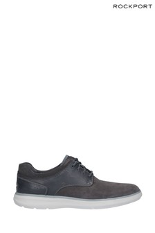Rockport Grey Zaden Pointed Toe Blucher Shoes