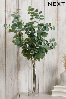 Set of 3 Artificial Eucalyptus Stems