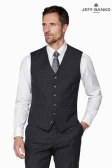 Jeff Banks Grey Soho Suit Waistcoat