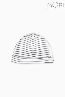 MORI White Stripe Hat