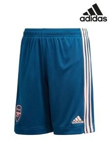 adidas Navy Arsenal FC Third 20/21 Football Shorts
