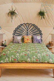 The Chateau by Angel Strawbridge Blossom Floral And Butterfly Cotton Duvet Cover and Pillowcase Set