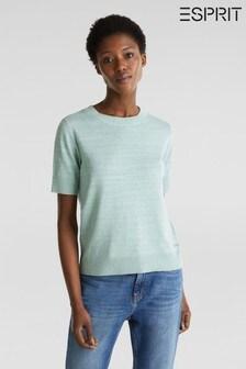 Esprit Green Casual Women Sweater
