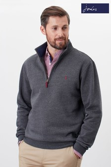 Joules Drayton Clean Quarter Zip Sweater