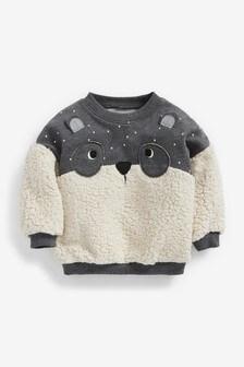 Grey Fleece Character Sweatshirt (3mths-7yrs)