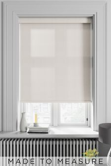 Waffle Oyster Cream Made To Measure Roller Blind