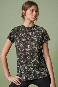 Monochrome Short Sleeve Sports T-Shirt