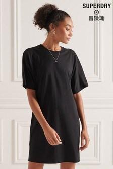 Superdry Cotton Modal T-Shirt Dress