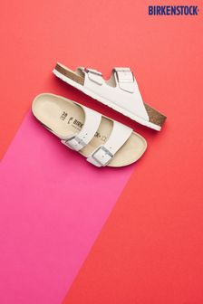 Birkenstock® White Arizona Sandals