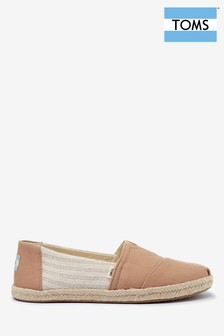 TOMS Natural Honey University Classic Espadrilles