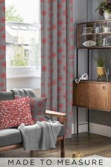 Dandelion Mobile Storm Grey Made To Measure Curtains