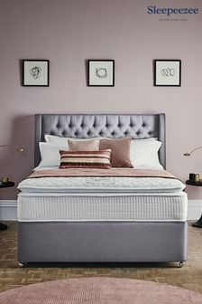 Grey 3200 Gel Mattress Divan Set By Sleepeezee
