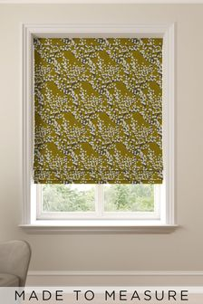 Albion Mimosa Yellow Made To Measure Roman Blind