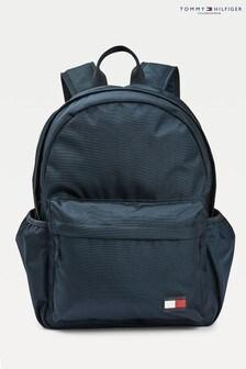 Tommy Hilfiger Blue Flag Backpack