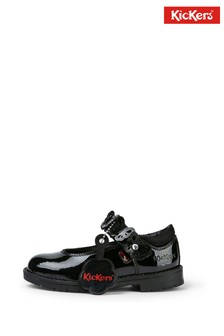 Kickers Lachly Butterrfly Mary-Jane Patent Leather Shoes