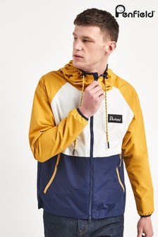 Penfield Yellow Echora Colourblock Jacket